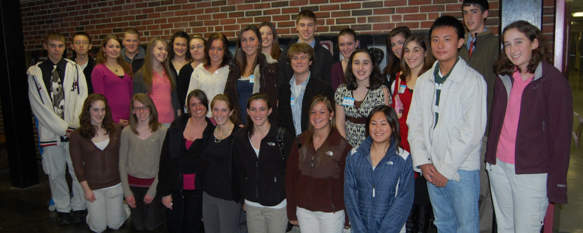 2008 Annual Meeting student directors