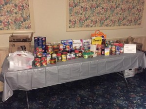 Donations to the Wakefield Interfaith Food Pantry