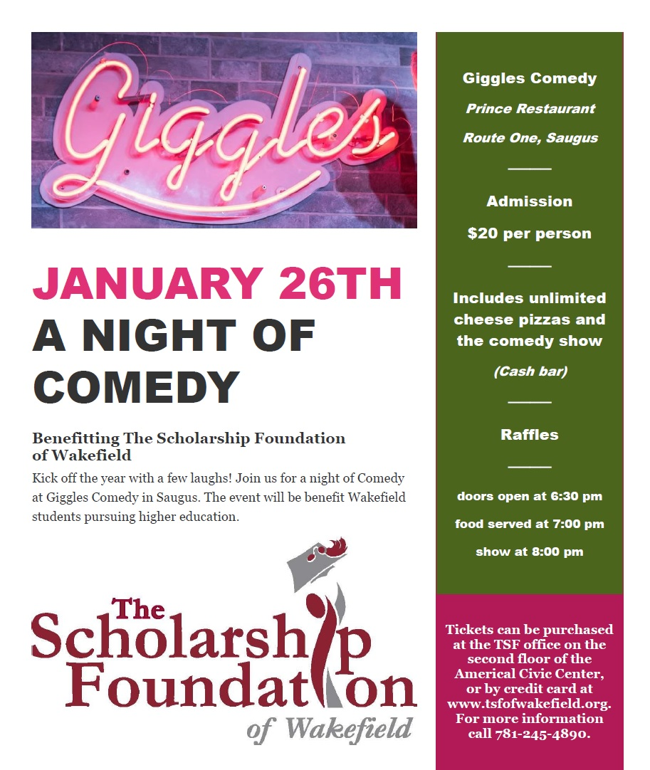 Giggles Comedy Flyer